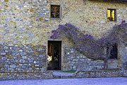 Medieval City Photos - Purple by Walt  Baker