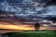 Golf Photos Prints - Purpose Print by Reid Callaway