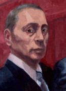 Ruler Painting Posters - Putin Poster by Jason Axtell