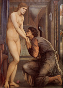 Old Man Digital Art - Pygmalion and the Image Iv by Edward Burne Jones