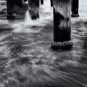 Seaford Photo Prints - Pylons Print by Tim Nichols