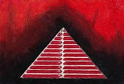 Pyramid Drawings - Pyramid Scheme by Keith Gruis