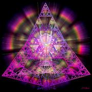 Pyramidian Print by Michael Durst