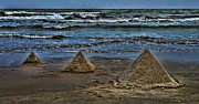 Pyramids Print by Jeff Breiman