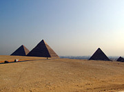 Pharaoh Prints - Pyramids Of Giza 07 Print by Antony McAulay