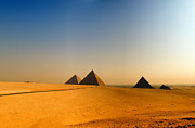 Pharaoh Prints - Pyramids Of Giza 08 Print by Antony McAulay