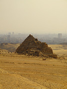 Pharaoh Prints - Pyramids Of Giza 12 Print by Antony McAulay