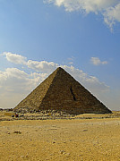 Pharaoh Prints - Pyramids Of Giza 27 Print by Antony McAulay
