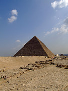 Pharaoh Prints - Pyramids Of Giza 30 Print by Antony McAulay