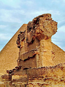 Karam Halim Metal Prints - Pyramids Temple  Metal Print by Karam Halim
