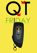 Luxury Digital Art Originals - Qt Friday Gallardo by Dean ILDEFONSE