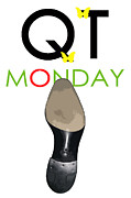 Shoe Digital Art Originals - Qt Monday John Lobb by Dean ILDEFONSE