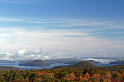 Fall Photos Prints - Quabbin Reservoir Print by Juergen Roth