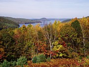 Belchertown Prints - Quabbin Reservoir Print by Michelle Welles