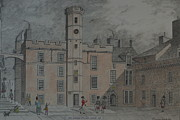 Independence Mixed Media - Quadrangle Edinburgh Castle by William Goldsmith