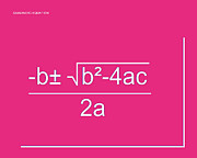 Calculus Digital Art Posters - Quadratic Equation Poster by Paulette Wright