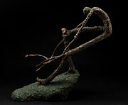 Tree Art Sculpture Prints - Quake Print by Adam Long