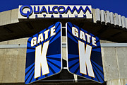 National Football League Prints - Qualcomm Stadium 2 Print by Craig Carter
