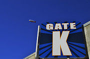 San Diego Padres Stadium Posters - Qualcomm Stadium Gate K Poster by Craig Carter
