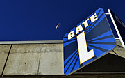 San Diego Padres Stadium Art - Qualcomm Stadium Gate L by Craig Carter