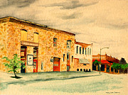 Mary Ellen Anderson Paintings - Quantrills Flea Market - Lawrence Kansas by Mary Ellen Anderson