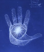 Syndrome Posters - Quantum Hand Through My Eyes Poster by Jason Padgett