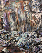 Material Pastels - Quarry by Elizabeth Lock