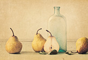 Antique Bottles Art - Quartet by Amy Weiss