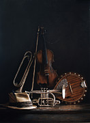 Realist Prints - QUARTET no.2 Print by Larry Preston