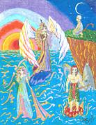 Quatuor Print by Valerie Bessette
