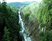 Quechee Prints - Quechee Gorge in Vermont Print by Spencer McKain