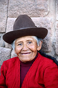 Toothless Prints - Quechua Lady in Cusco Print by James Brunker
