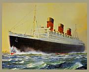 Susan Leggett - Queen Mary Postcard