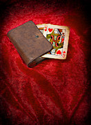 Game Prints - Queen Of Hearts Print by Christopher Elwell and Amanda Haselock