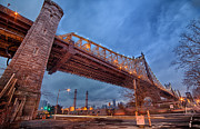 Emmanouil Klimis Prints - Queensboro bridge Print by Emmanouil Klimis