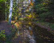 Jack R Perry - Fall Creek Reflection