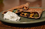 Tex-mex Art - Quesadilla by Trisha  Mark