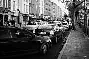 Queue Framed Prints - Queue Of Busy Dublin Traffic Bachelors Walk City Centre Dublin Republic Of Ireland Framed Print by Joe Fox