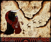 Hopi Prints - Quiessence Print by Gerry Quotskuyva
