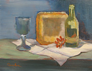 Lori Quarton Art - Quiet Arrangement by Lori Quarton