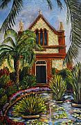 Nancy Bradley Painting Originals - Quiet Chapel by Nancy Bradley