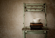 Saucer Prints - Quiet Contemplation Print by Amy Weiss