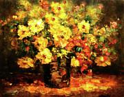 Quiet Desires - Impressionism  Print by Zeana Romanovna