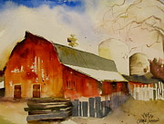 Carole Johnson - Quiet Red Barn