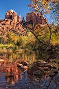 Cathedral Rock Prints - Quiet Reflection Print by Doug Oglesby