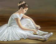 Shoe Originals - Quiet Repose by Sharon Lange