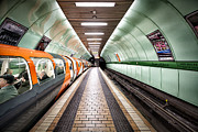 Subway Metal Prints - Quiet still Metal Print by John Farnan