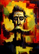 Don Quijote Paintings - Quijote Demencia II by David Silvah