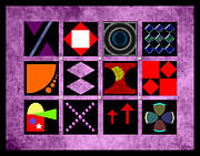Patchwork Quilts Digital Art - Quilt Geometry by Fran Riley