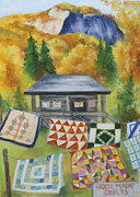 Quilts Pastels - Quilt Seller Pickens SC by Erin Cronin-webb